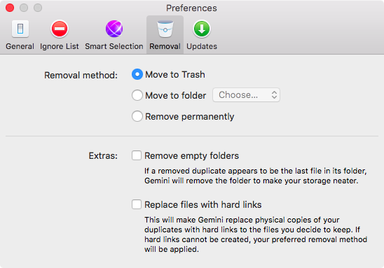 Gemini 2.0 for OS X Settings Mac screenshot 004