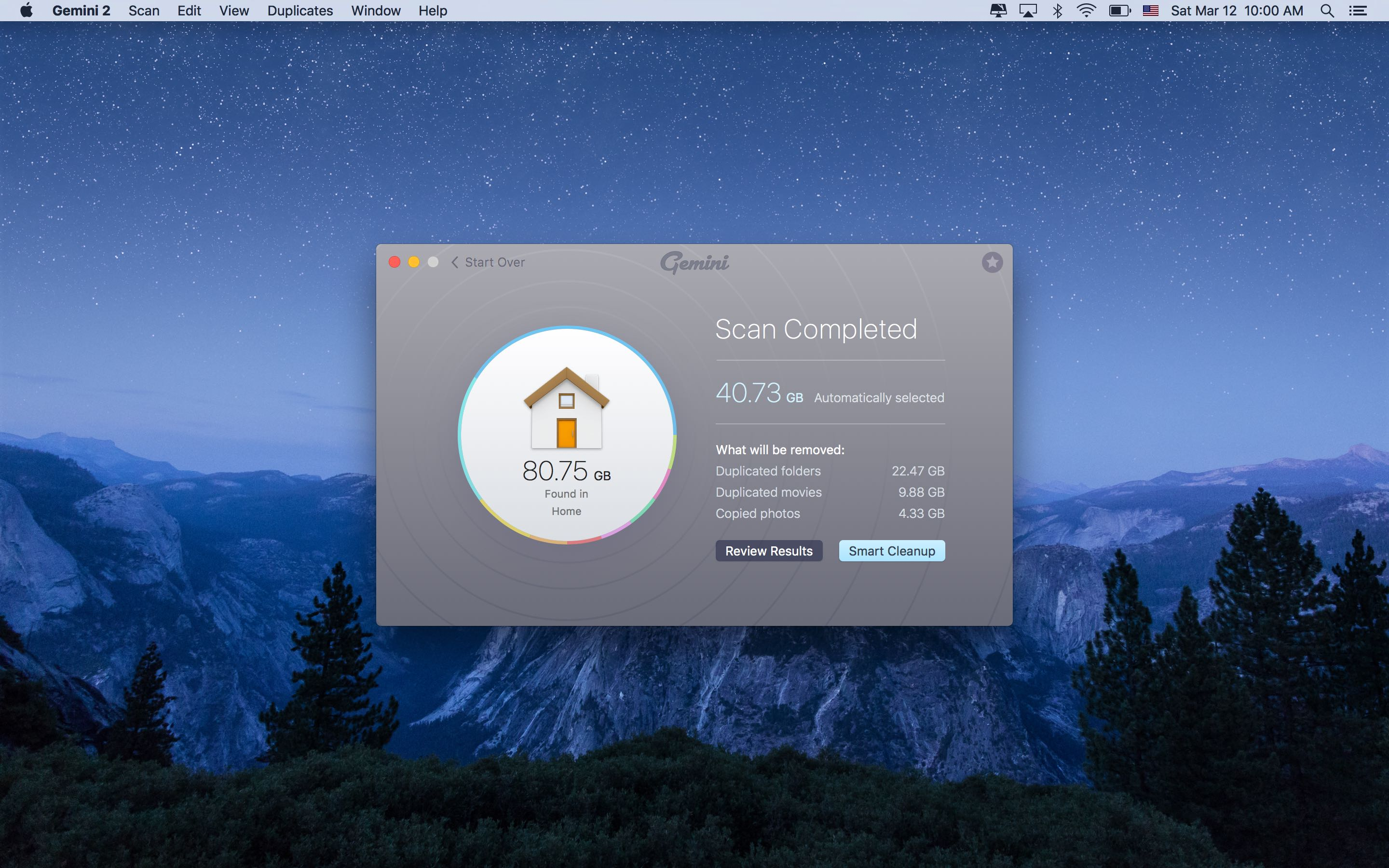 Gemini 2.0 for OS X completed Mac screenshot 002