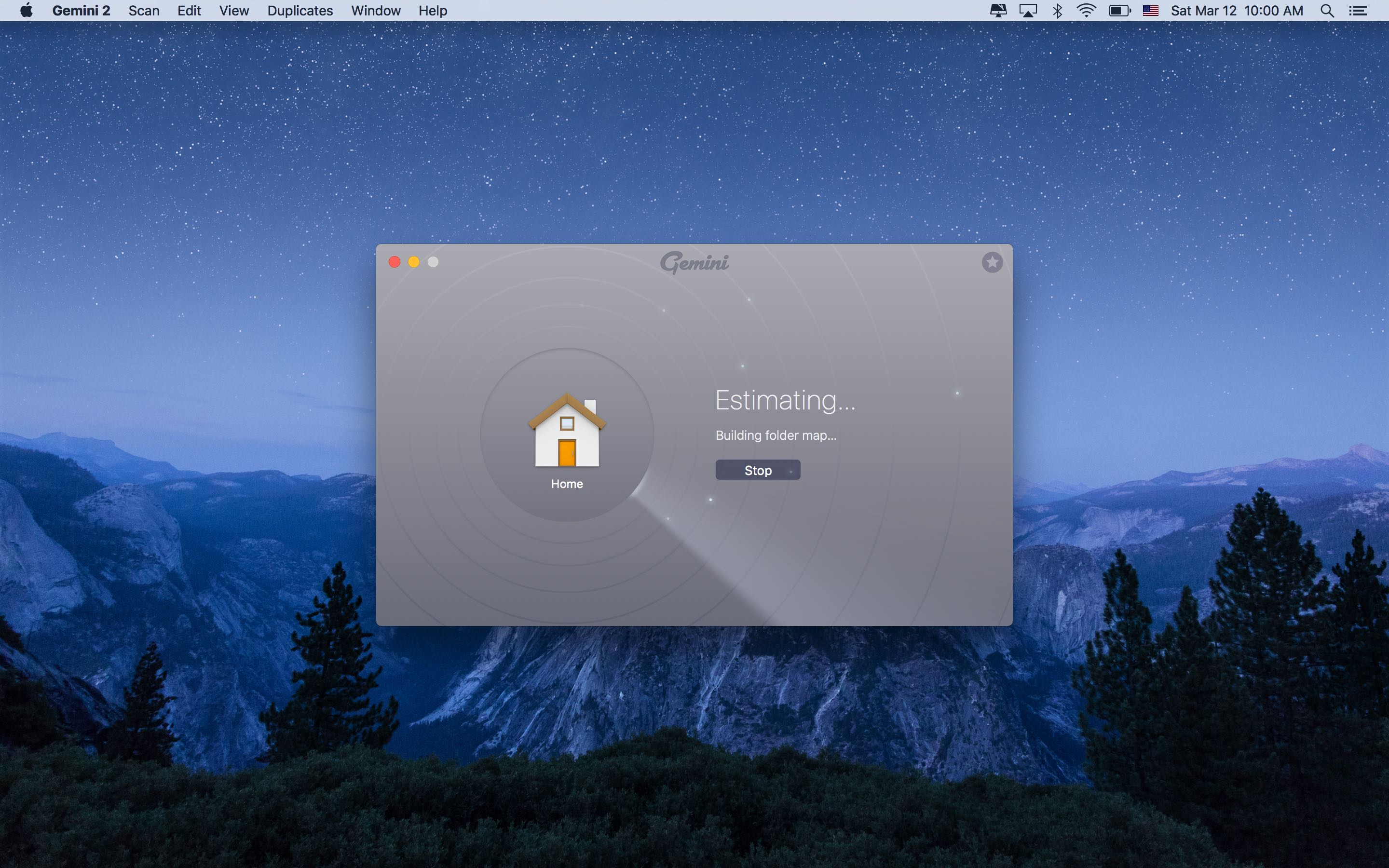 Gemini 2.0 for OS X laumch screen Mac screenshot 006