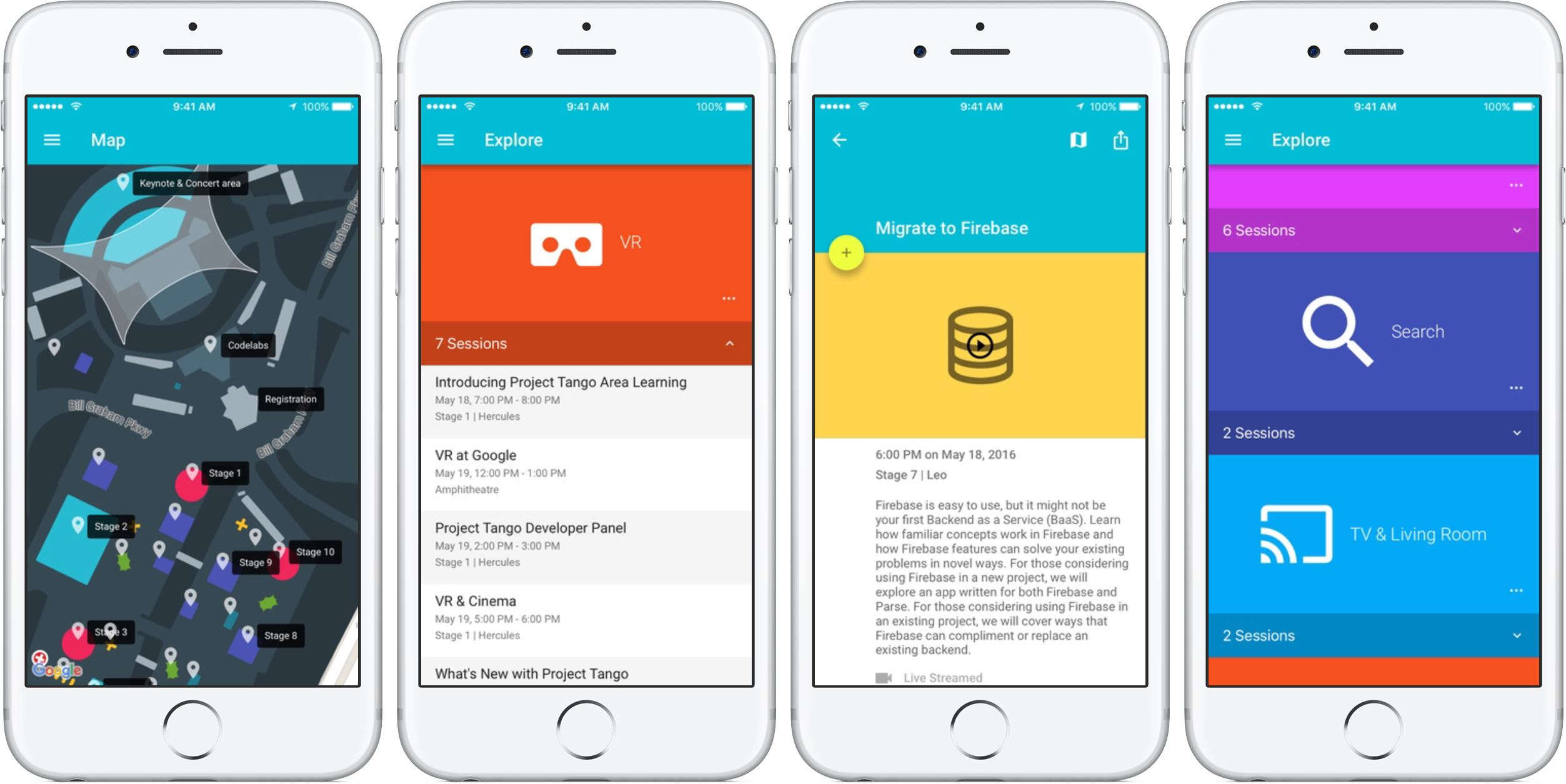Google IO 2016 1.2 for iOS iPHone screenshot 001