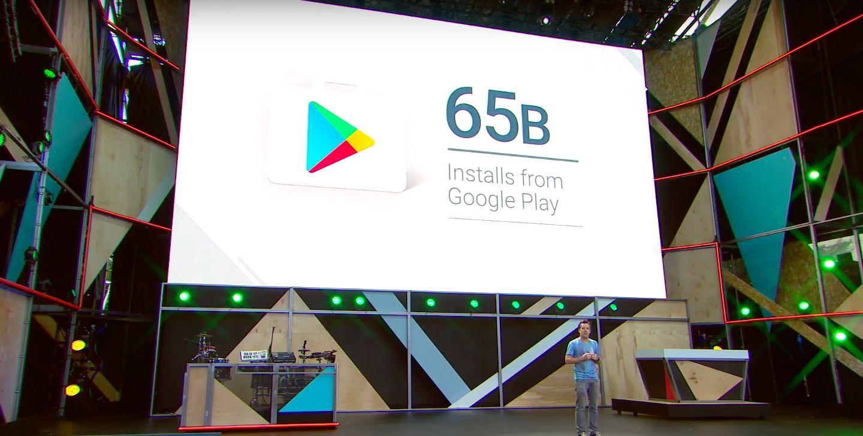 Google Play 65B installs