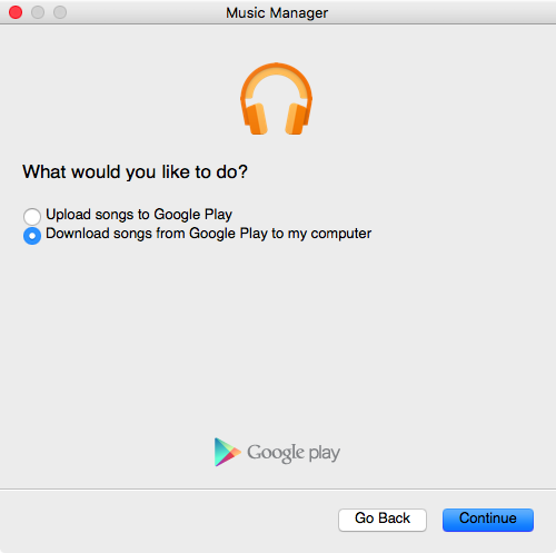 music manager download page google