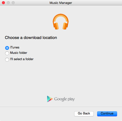 Google Play Music Manager for Mac screenshot 005