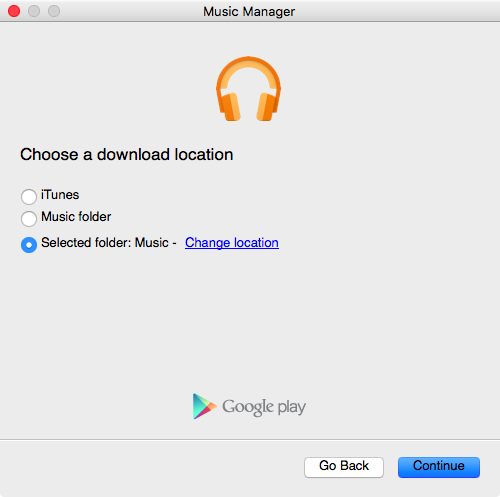 Google Play Music Manager for Mac screenshot 006