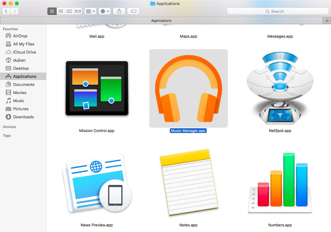Google Play Music Manager for Mac web screenshot 003