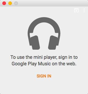 Imagen de la aplicación web Google Play Music 001