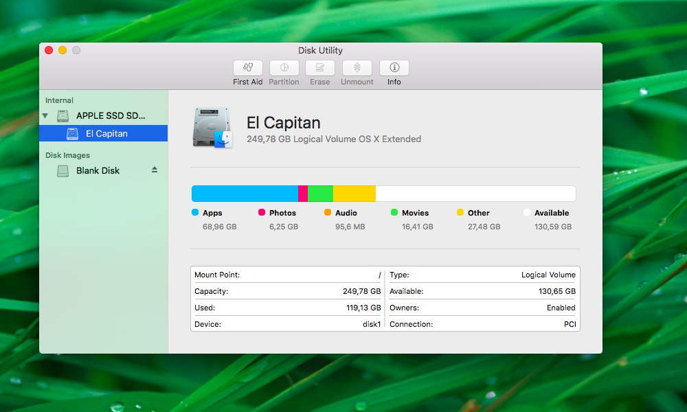 How to create blank images Disk Utility Mac screenshot 000