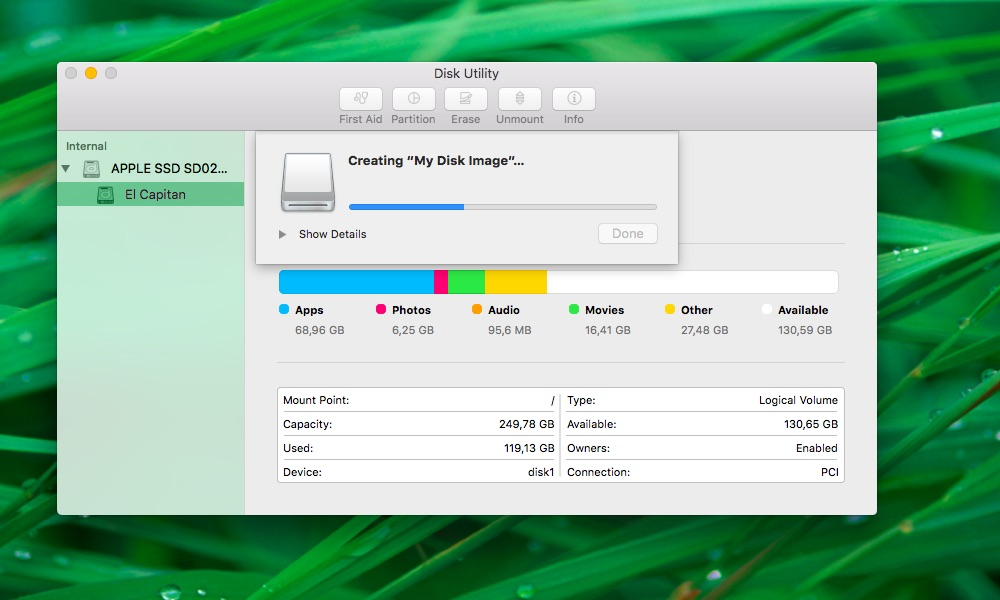How to create blank images Disk Utility Mac screenshot 009