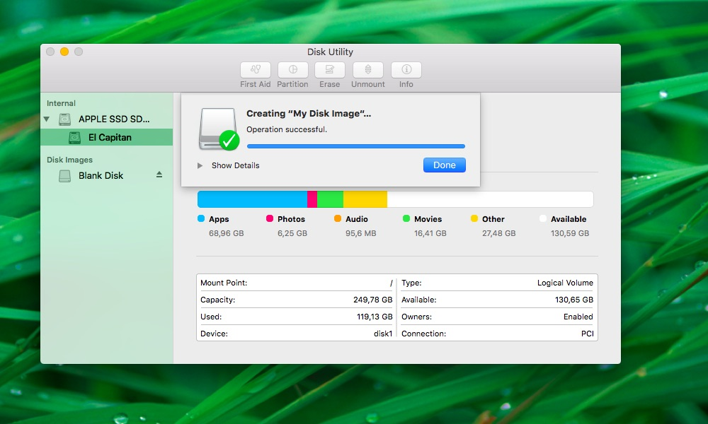 How to create blank images Disk Utility Mac screenshot 010