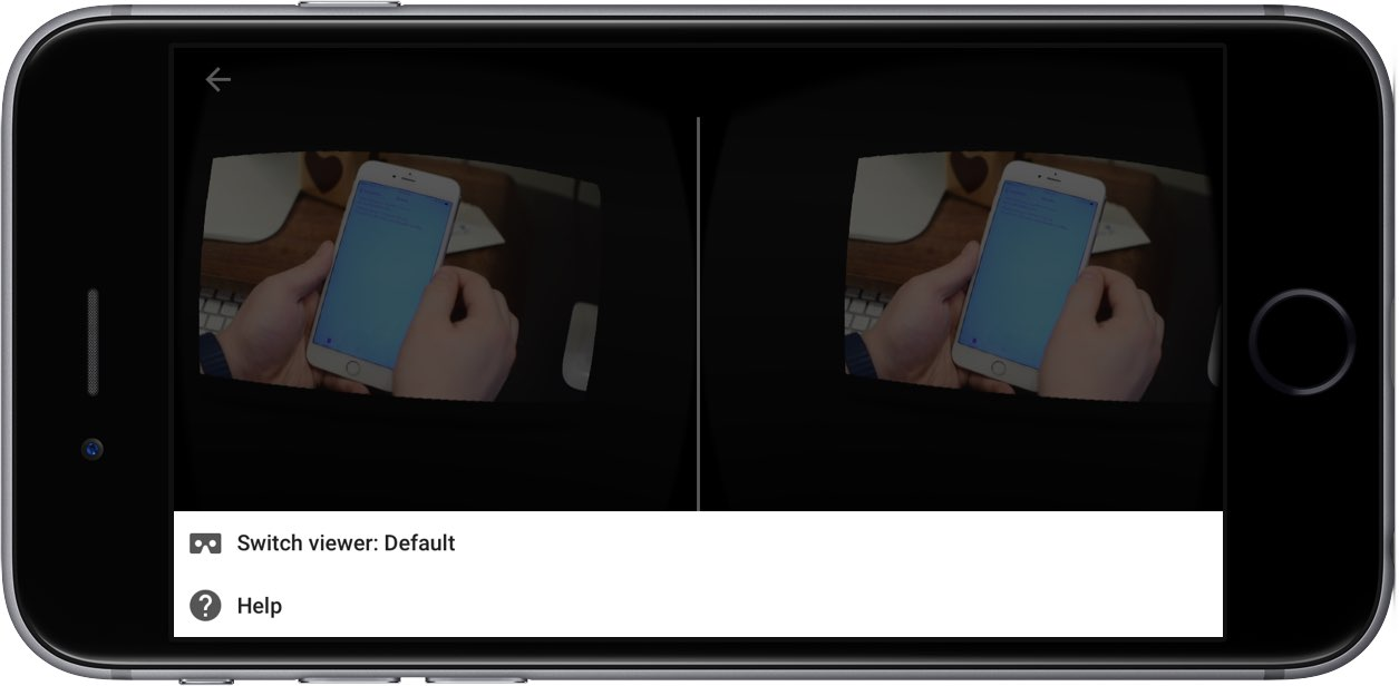 How to watch YouTube Google Cardboard iPhone screenshot 002