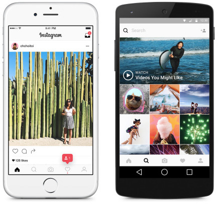 Instgram 8.0 redesign teaser