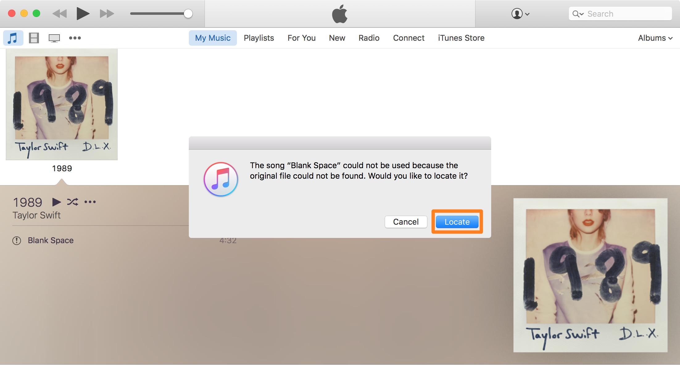 What to do when iTunes can't locate your music files