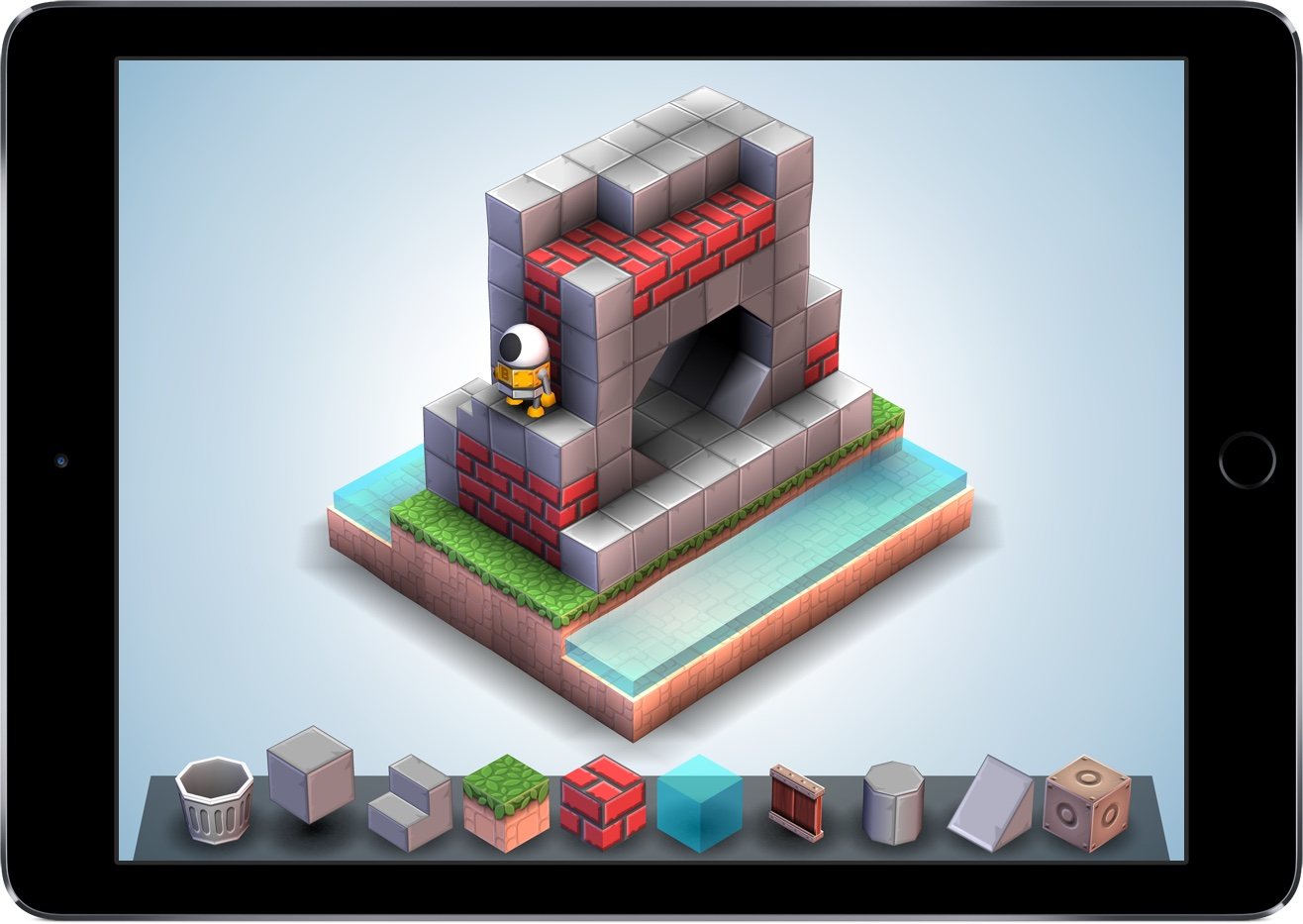 Mekorama 1.0 for iOS iPad screenshot 001
