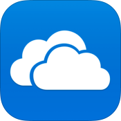 Microsoft OneDrive 7.1 for iOS app icon small