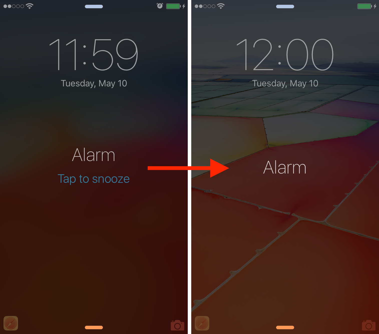 Quick Tip Disable The Snooze Button Of Your Alarms