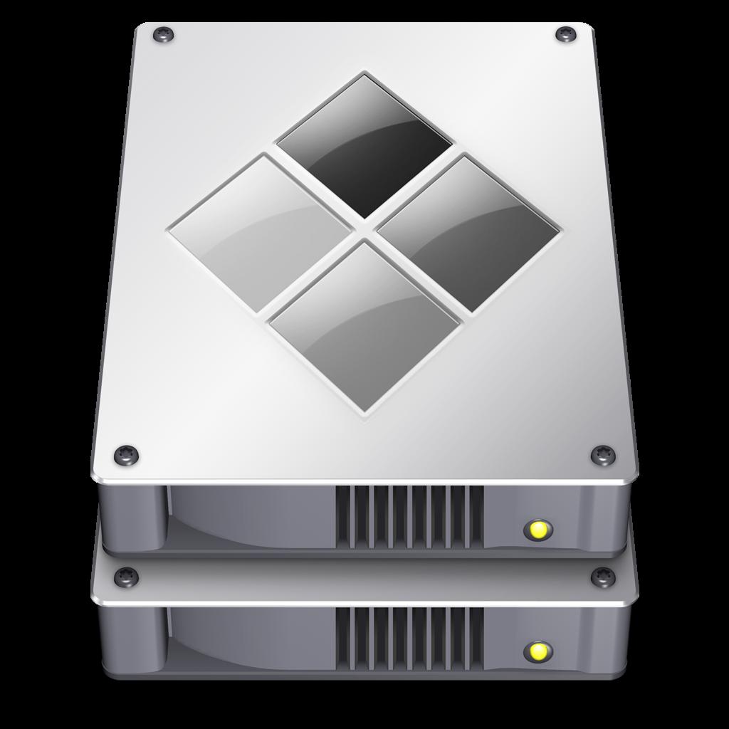 OS X Bootcamp Icon