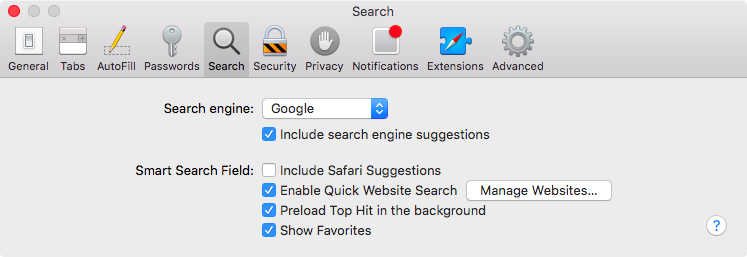 OS X El Capitan Safari Suggestions Mac screenshot 001
