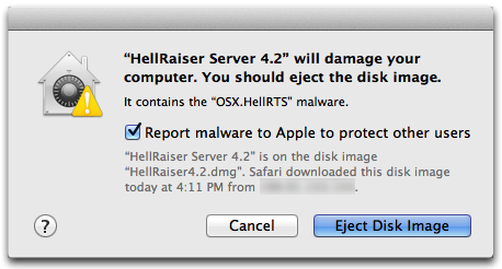 OS X El Capitan malware promprt Mac screenshot 002