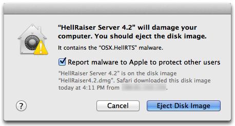 OS X El Capitan muestra el malware Captura de pantalla de Mac 002