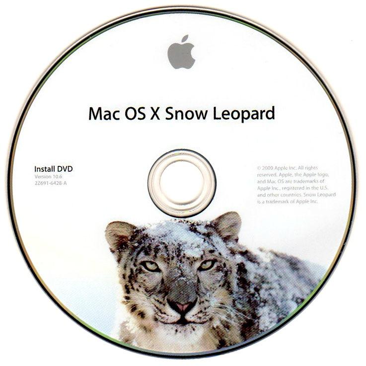 OS X Snow Leopard install DVD image 001