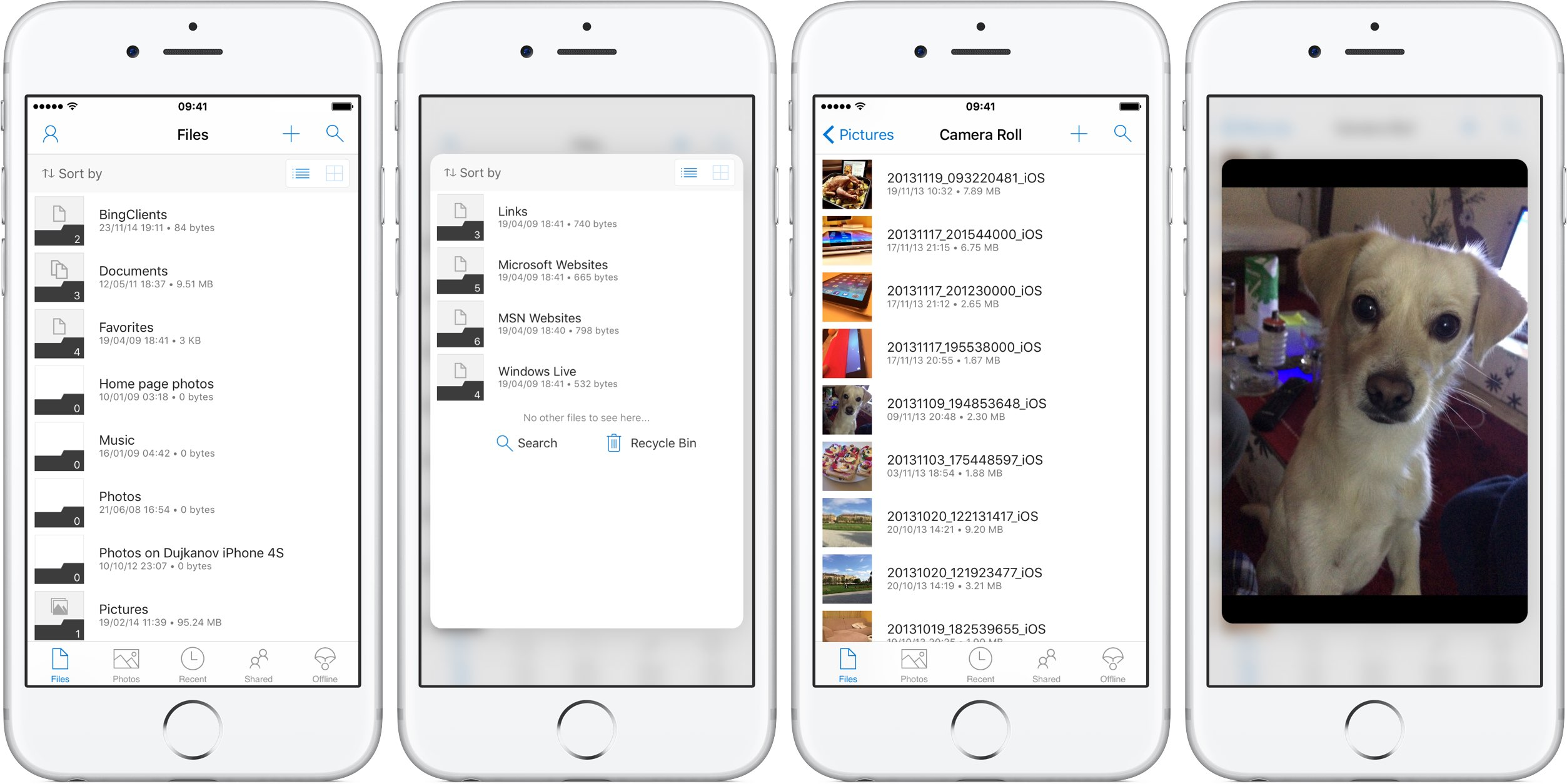 OneDrive 7.1 for iOS iPhone screenshot 001