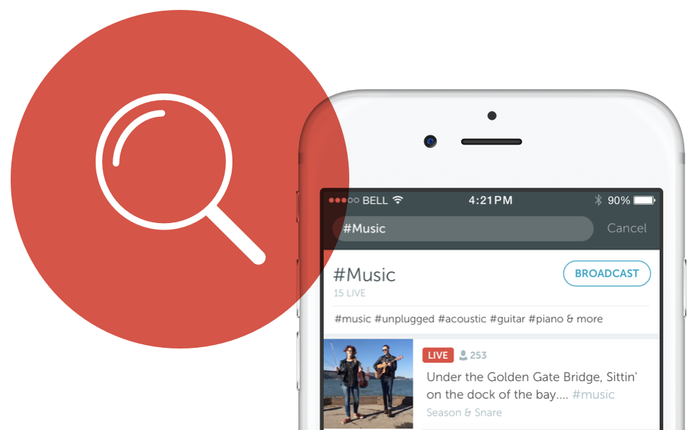 Periscope 1.4 for iOS broadcast search teaser 001