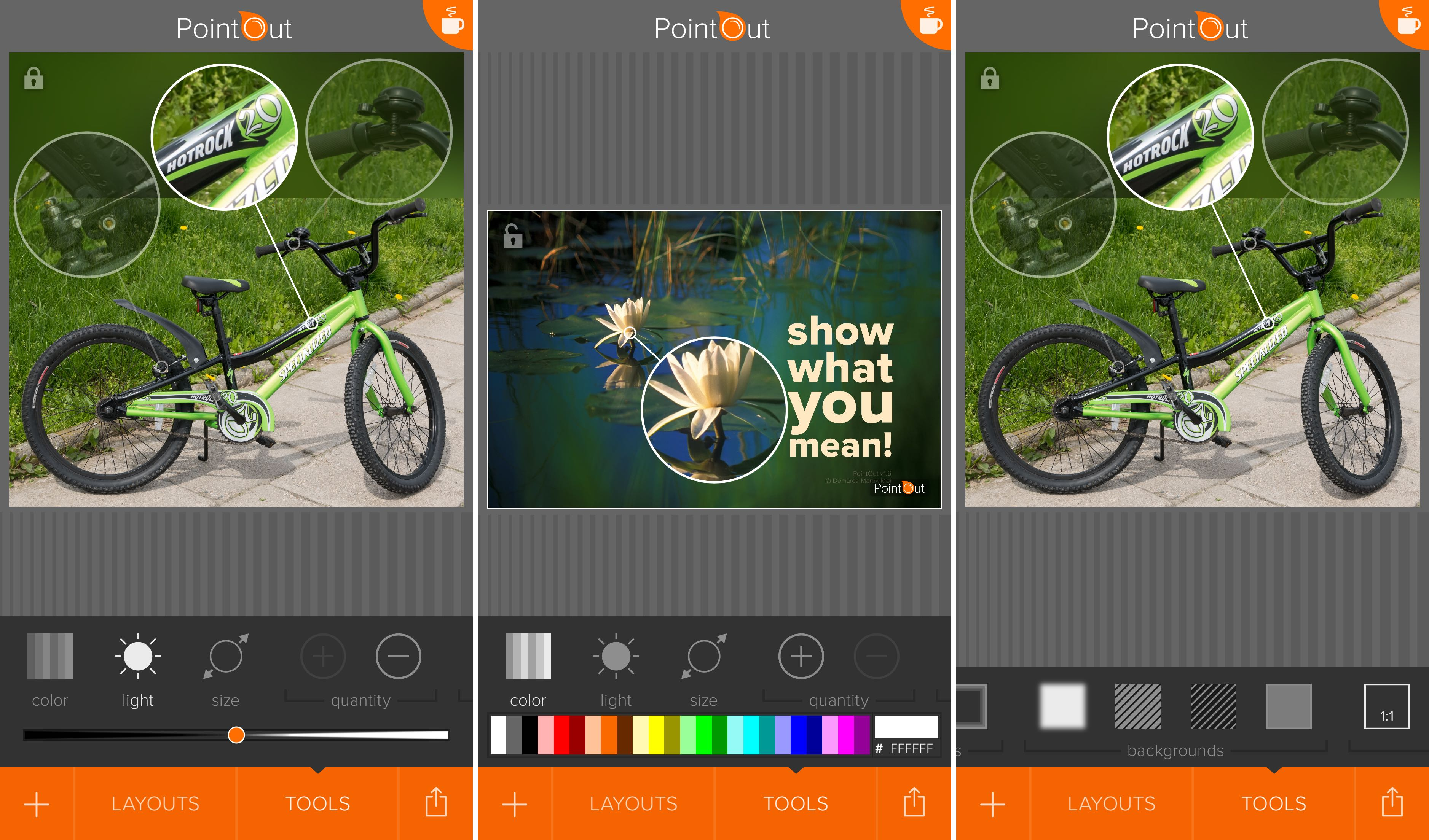 PointOut 1.6 for iOS loupe iPhone screenshot 002