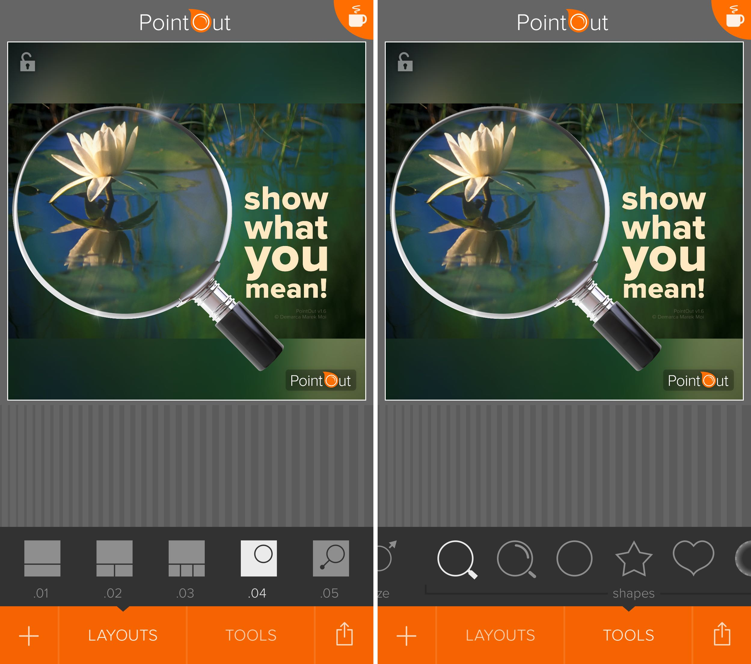 PointOut 1.6 for iOS loupe iPhone screenshot 003