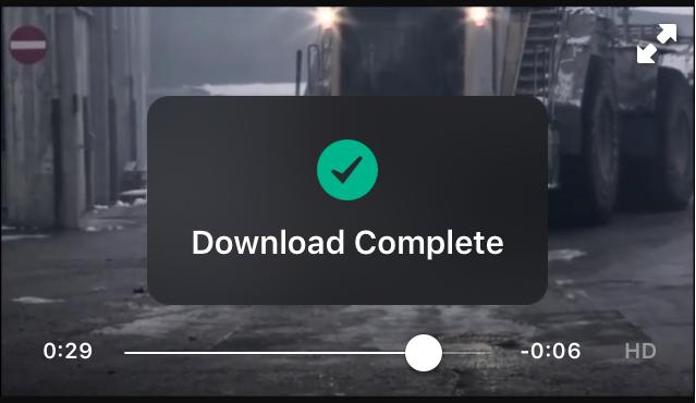 Prenesi 3 download videos in Facebook iOS app