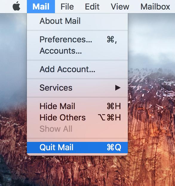 Quit app Mac From Menu Bar
