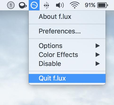 Quit app Mac Running in Menu Bar Icon