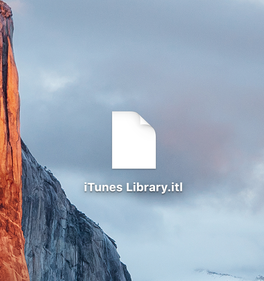 iTunes library missing guide 1