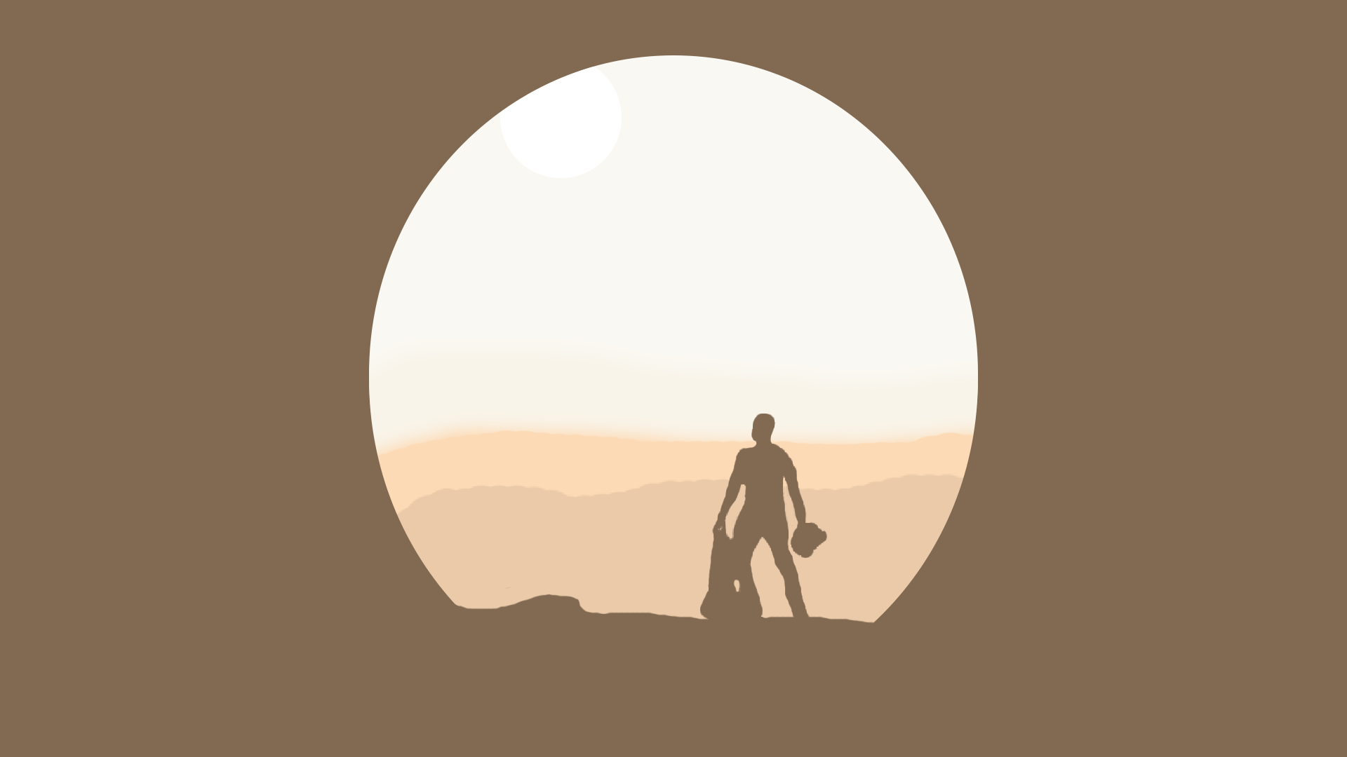 Minimalist Clock Designer Star Wars Wallpapers Collection