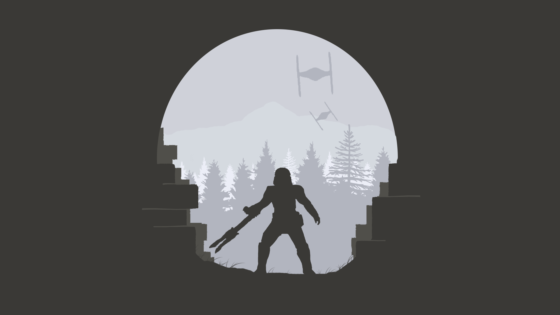 Designer Star Wars Wallpapers Collection