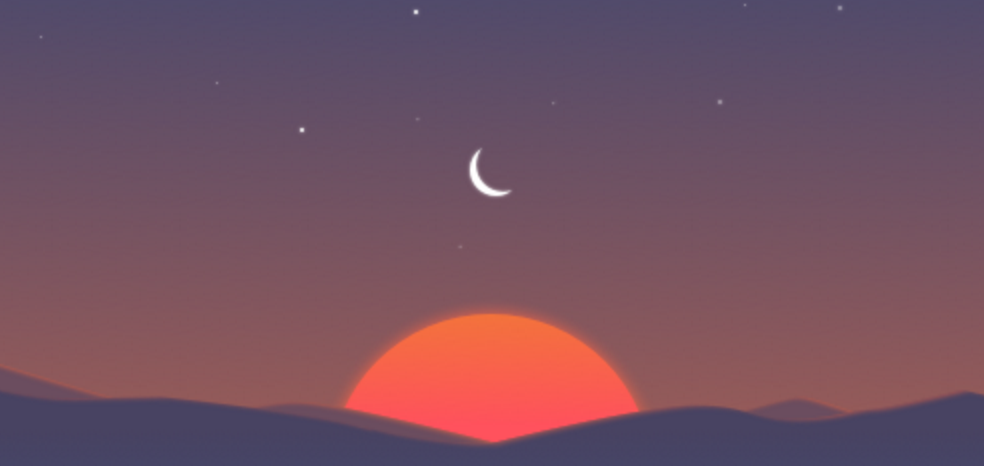 Sunrise Calendar sunsetting image 001