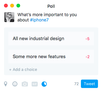 Twitter for OS X polls MAc screenshot 001