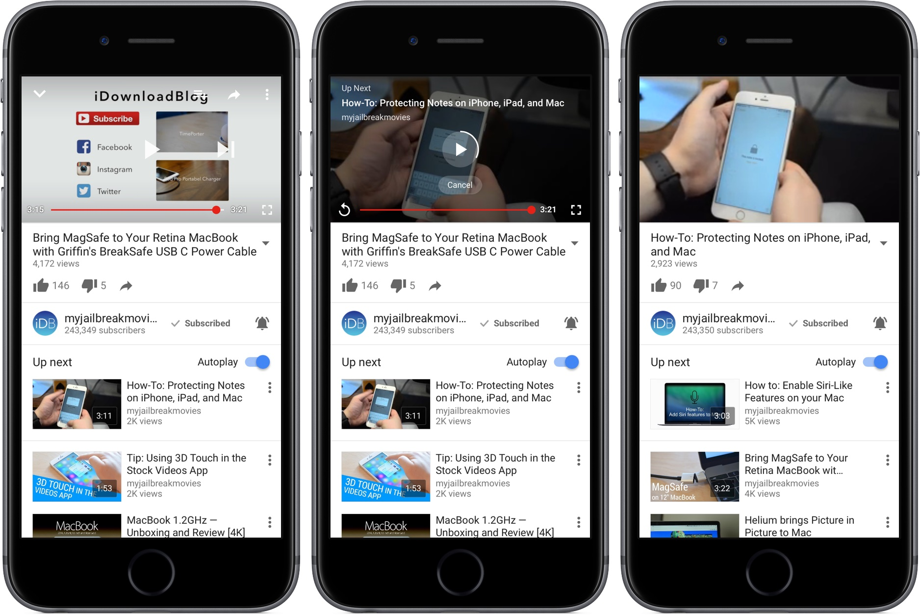 download youtube videos to iphone 6s