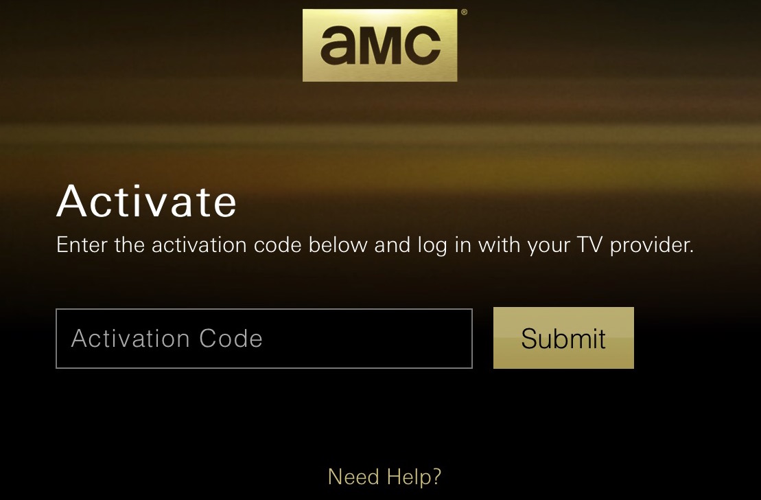 amc login Apple TV