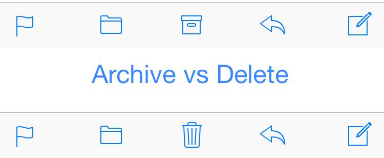 archivo eliminar correo electrónico