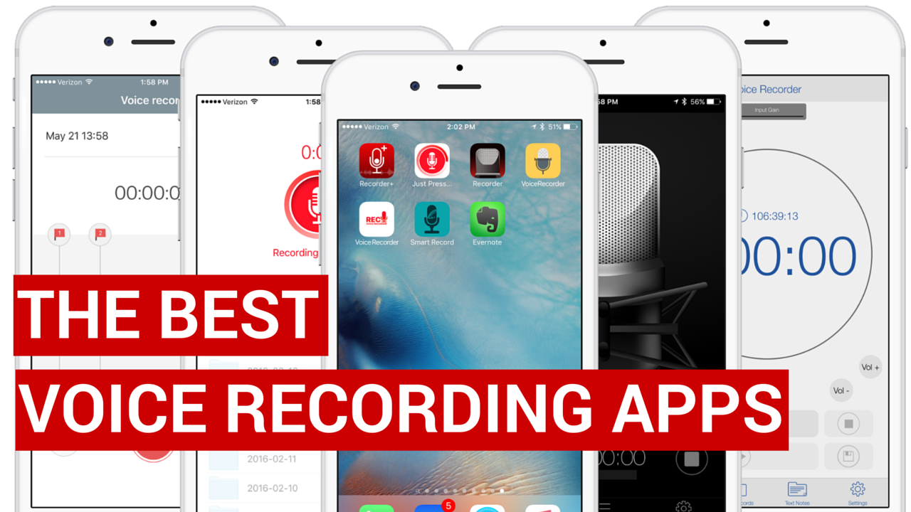 best voice recording apps