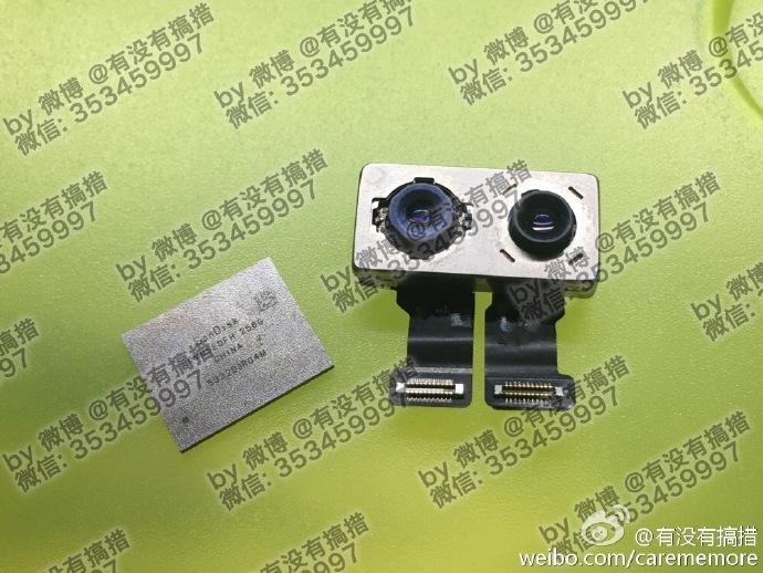 iPhone 7 Plus leak dual cameras nand flash