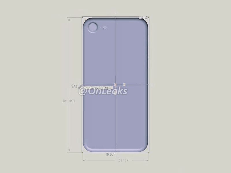 best service 353d3 c3768 Another technical drawing suggests iPhone 7 has same width and ...