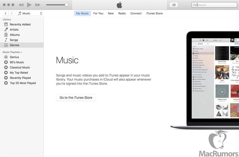 iTunes 12.4 sidebar MacRumors leak 002
