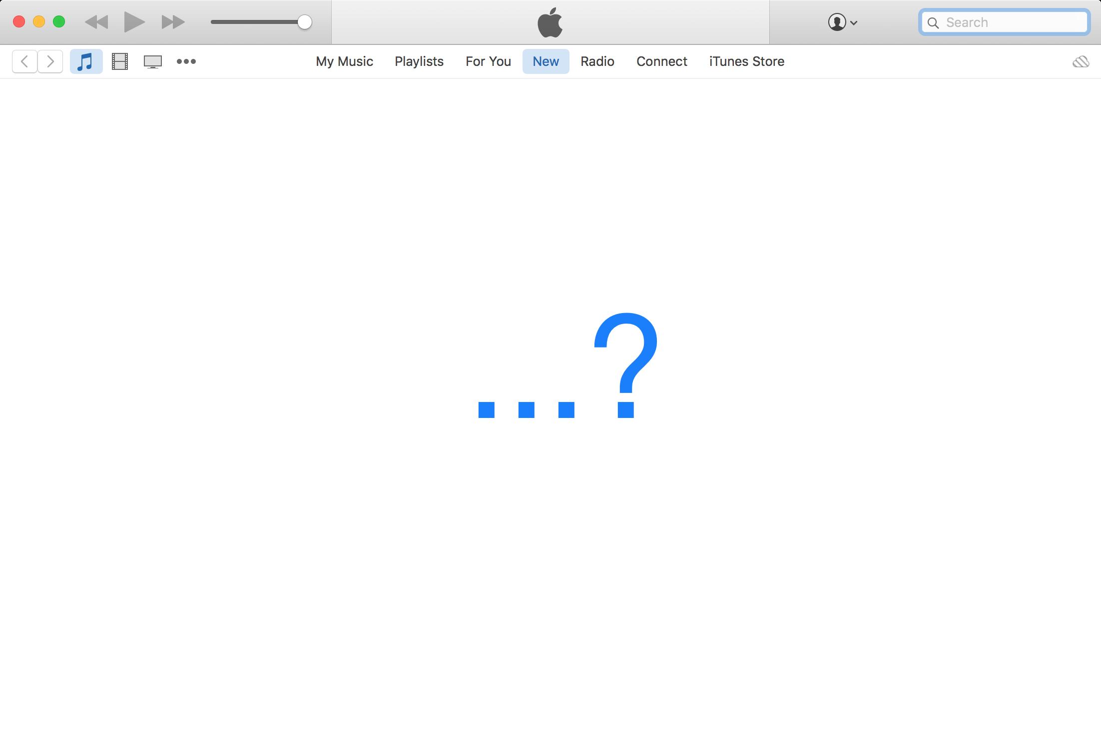 iTunes problem