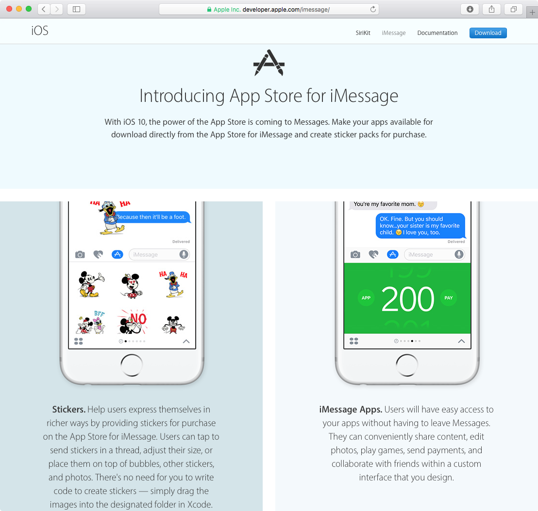 App Store for iMessage web screenshot 002