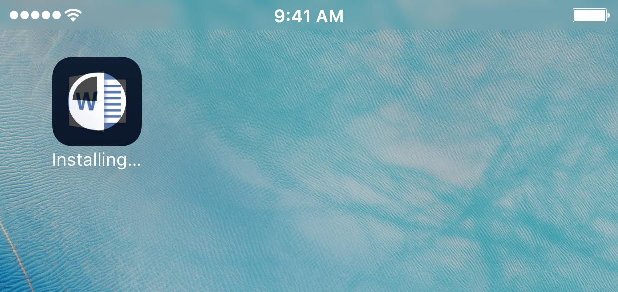 Apps stuck on