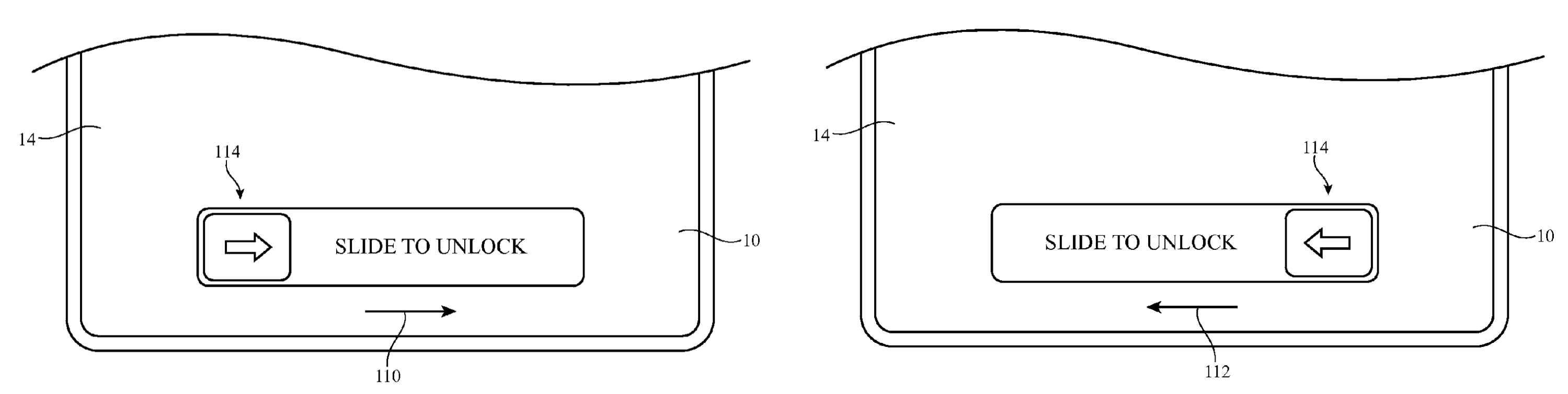 Apple patent iPhone left-handed use drawing 002