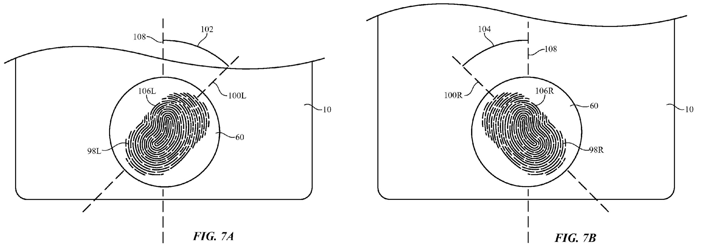 Apple patent iPhone left-handed use drawing 004