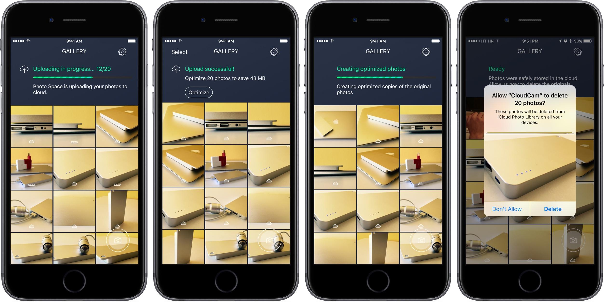 Avast Photo Space 1.0 for iOS iPhone screenshot 001