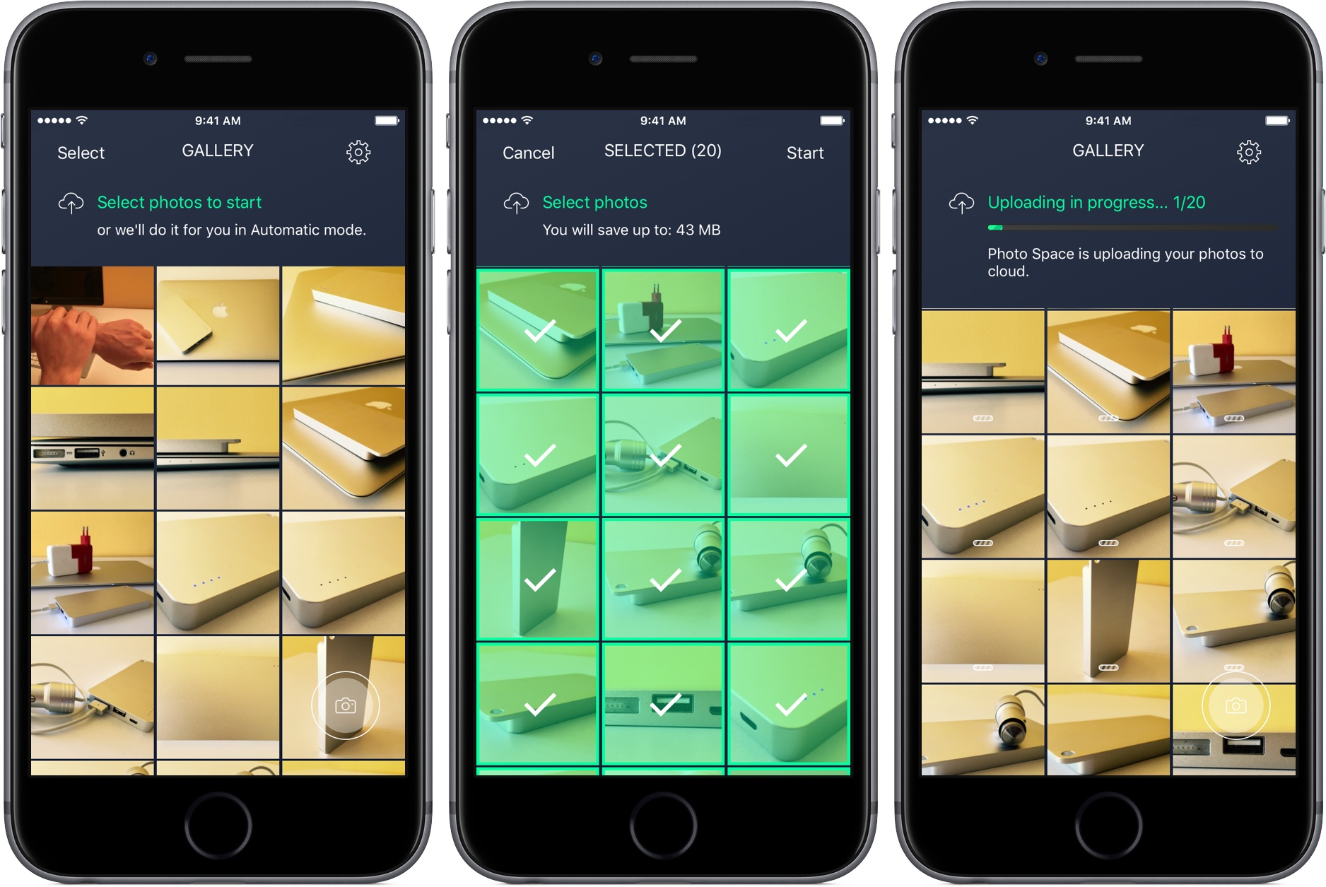 Avast Photo Space 1.0 for iOS iPhone screenshot 002